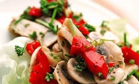 салат грибной болгарский