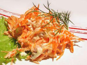 салат корейский морковь со свининой