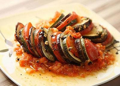 Рататуй, овощное блюдо Рататуй, рецепт Рататуй