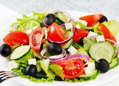 салат греческий по деревенски