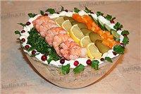 салат 33 удовольствия из морепродуктов
