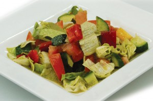 салат овощной, легкий, Вирджиния
