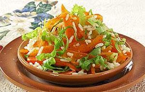 салат овощной бомбей