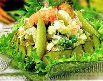 салат из раков с сельдереем