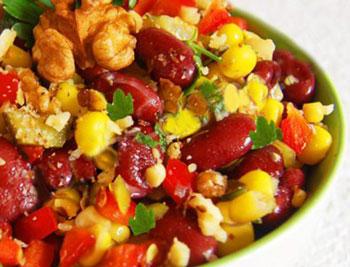 салат мазурка овощной