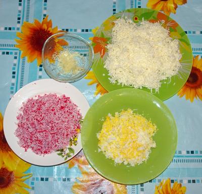 салат рафаэлло с крабовыми палочками