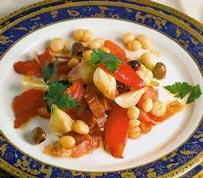 салат из фасоли теплый