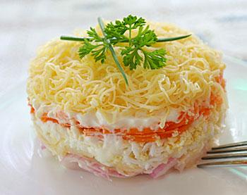 салат французский