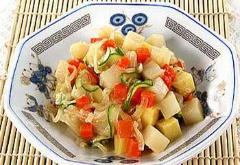 салат картофельный японский