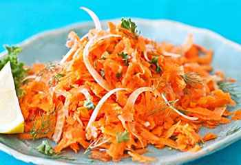 салат морковь с фенхелем