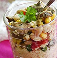 рецепт салата из кус-куса