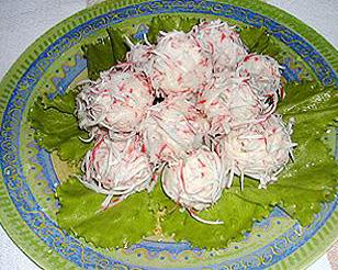 салат кораллы