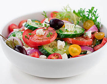 салат овощной из капусты