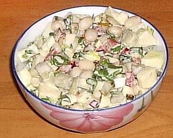 салат постный
