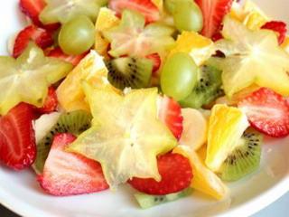фруктовый салат с медом на пасху