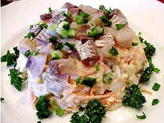 норвежский салат из сельди