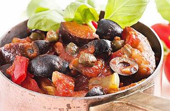 салат из запеченных баклажан по гречески