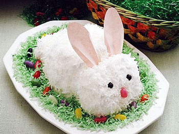 салат белый кролик к пасхе