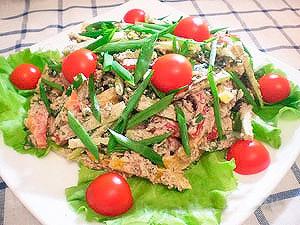 салат сытный овощной