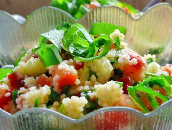 салат табуле, восточный салат к шашлыку