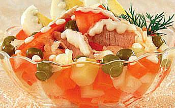 салат богатырь из свинины