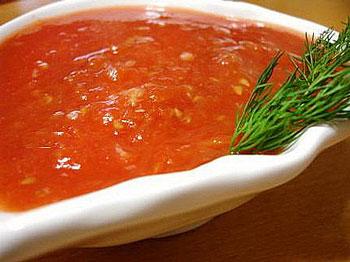 соус к макаронам из помидоров и перца