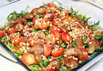 рецепт вкусного салата из баклажанов