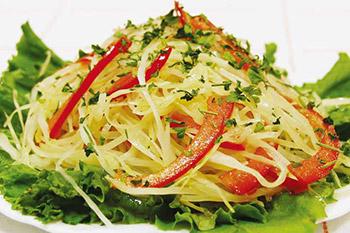 салат из свежей капусты с болгарским перцем острый
