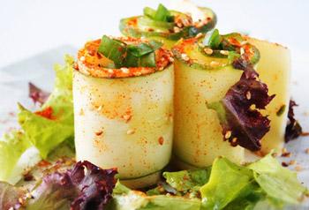 салат из огурцов и сыра к шашлыку
