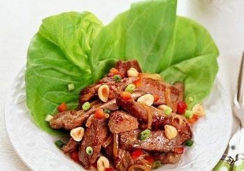 салат из теленка с орехами