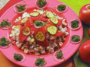 салат волжский из судака