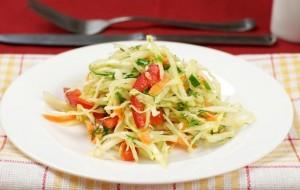 салат из капусты с болгарским перцем летний