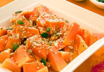 салат из тыквы с морковью и медом
