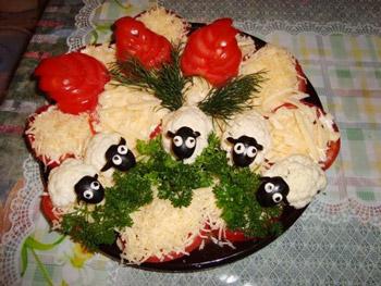 salat_ovechka