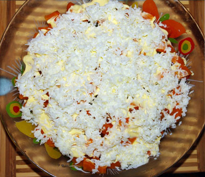 салат овощной пошаговый