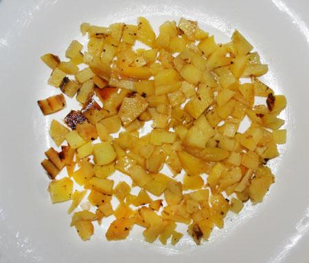 салат из жареной курицы с помидором пошаговый рецепт