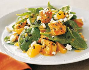 салат курица с апельсином и чесноком