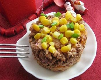 салат осенний из говядины с тыквой