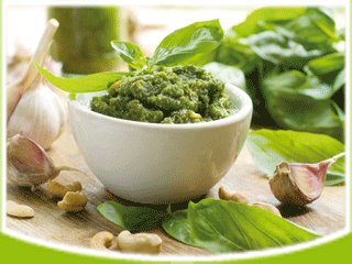 итальянский соус песто к рыбе и мясу