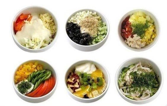 6 легких салатов
