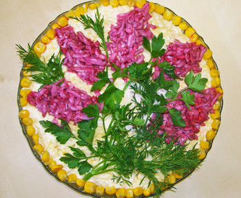 салат на 9 мая