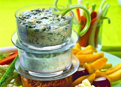 греческий соус к салатам