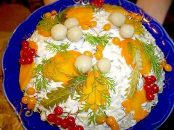 рецепт салата из грибов