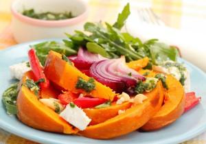 салат из тыквы на хэлловин