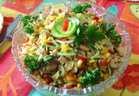 салат восторг с брокколи