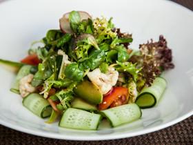салат вегетарианский овощной