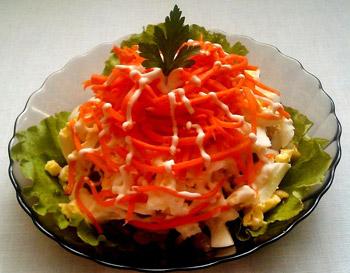салат новогодний елка из селедки