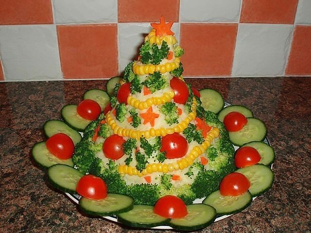 Новогодние рецепты салаты