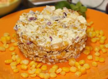 салат мехико из кукурузы острый