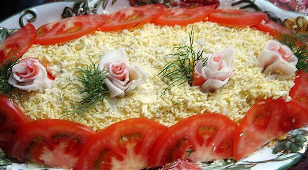 Новогодний крабовый салат рецепт